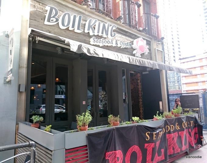 Boil King storefront