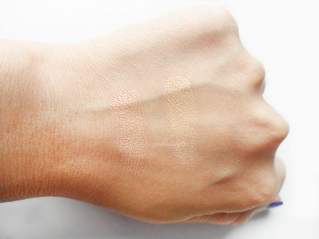 MAC Studio Finish Concealer Duo review and swatch
