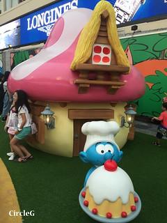 CIRCLEG 遊記 香港  尖沙咀 海港城 藍精靈 HABOUR CITY (20)