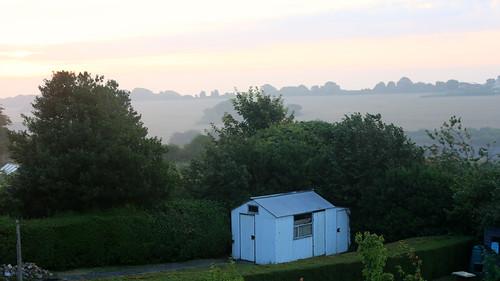 Misty in August