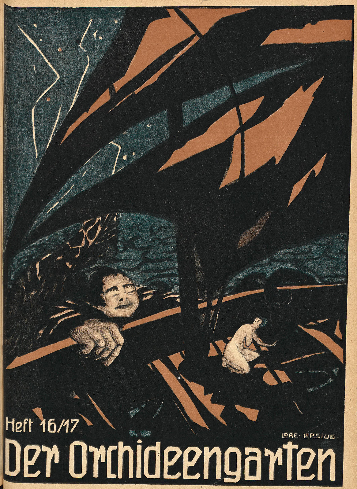 Der Orchideengarten - 1919 (Cover 16)