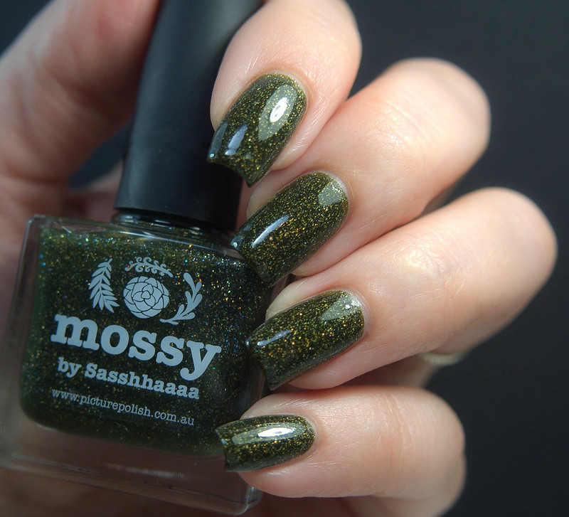 Picture Polish Mossy Charming Nails