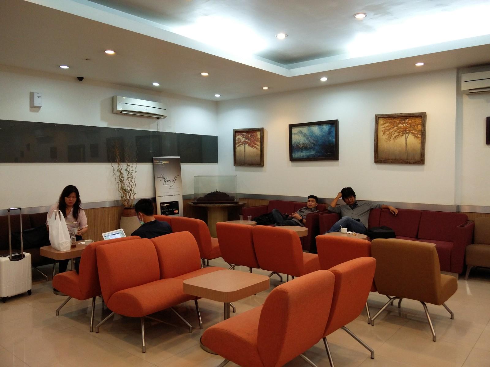 Inside Borobudur lounge