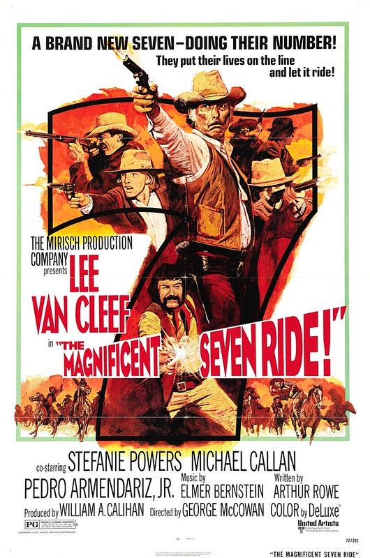 The Magnificent Seven Ride - Poster 2