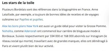 Bordeaux ces blogueuses qui ont le vent en poupe SudOuest.fr Vignette