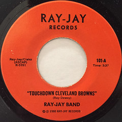 RAY-JAY BAND:TOUCHDOWN CLEVELAND BROWNS(LABEL SIDE-A)