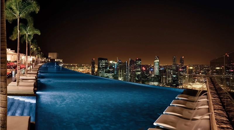 Бассейн Marina Bay Sands, Сингапур