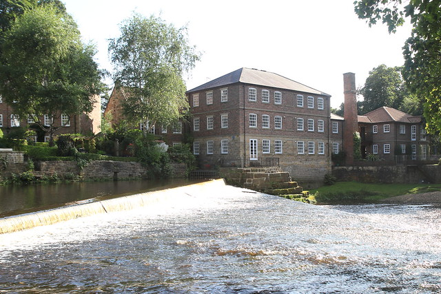 Weir at the mill