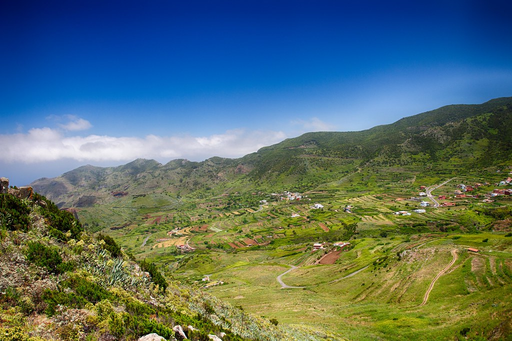 Teno Mountains panorama - Tenerife, Spain