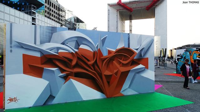 Projet Saato Street art La Défense copie