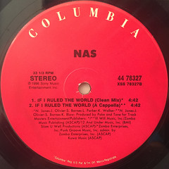 NAS:IF I RULED THE WORLD(LABEL SIDE-A)