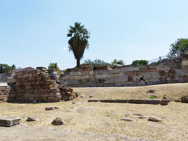 restes du mur de Thémistocle