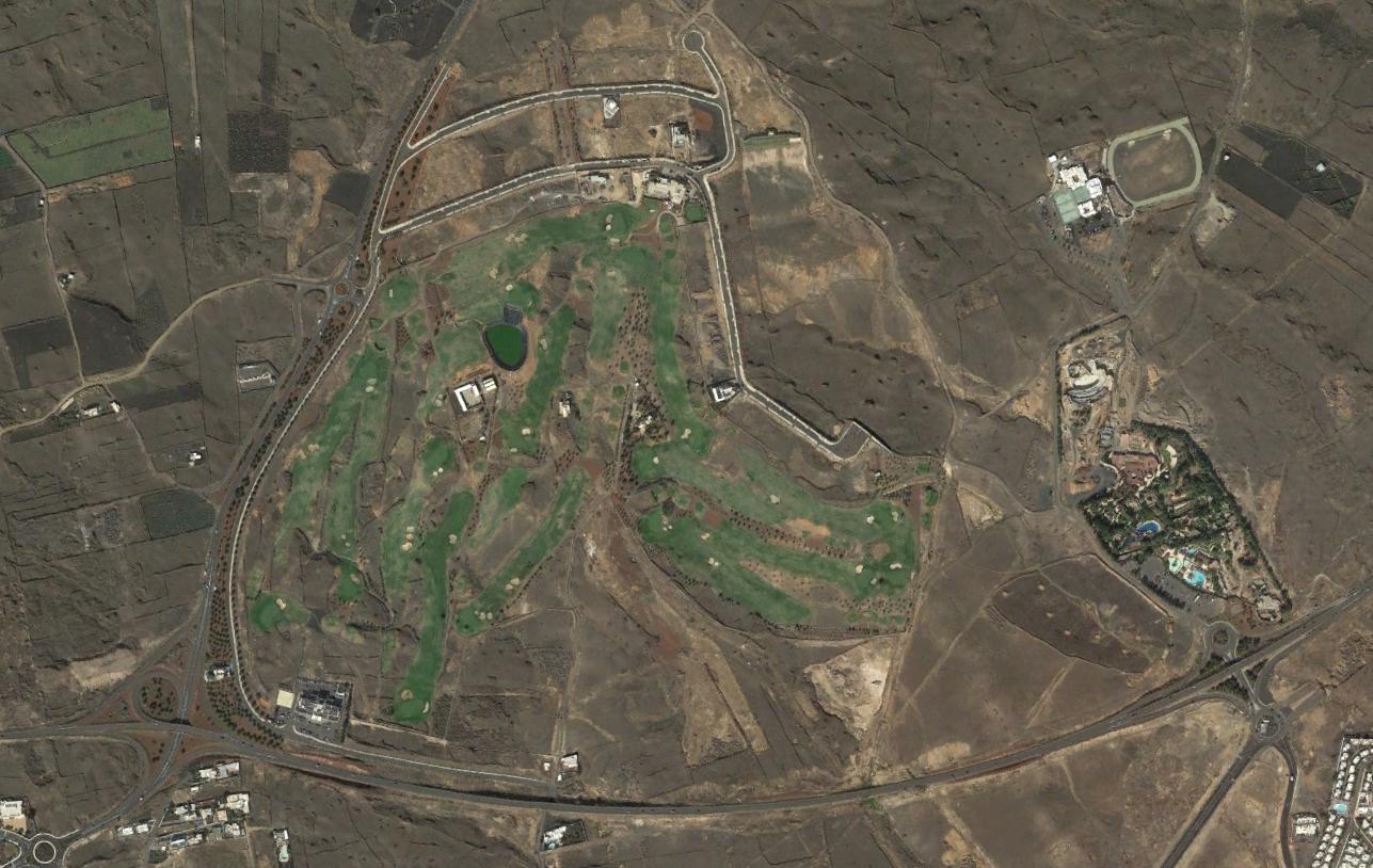lanzarote golf resort, lanzarote, las palmas, muelle de golfos, después, urbanismo, planeamiento, urbano, desastre, urbanístico, construcción, rotondas, carretera
