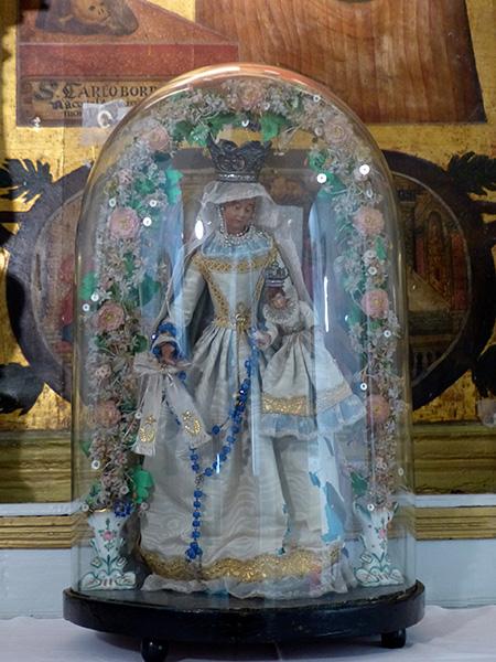 vierge cathédale naxos