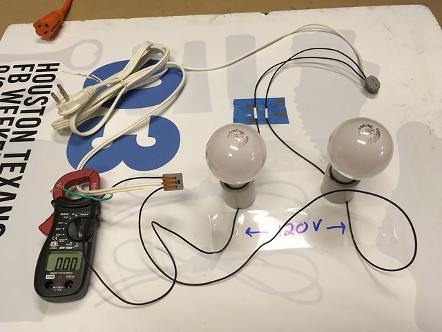 Wiring a 120240 motor to 240v examined in detail woodworking we take two 120v 43 watt light bulbs each producing along with the 43 watts of heat 680 lumens of visible light they are connected in the conventional greentooth Gallery