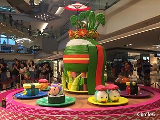 CIRCLEG 九龍塘 又一城 DISNEY TSUM TSUM 壽司 「Disney Tsum Tsum Walk N Roll Festival (5)