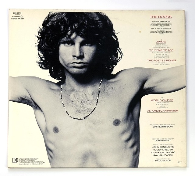 Jim Morrison Music By The Doors – An American Prayer