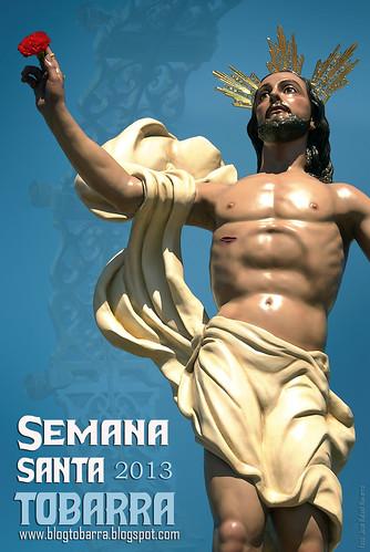 Cartel de la Semana Santa de Tobarra 2013 de www.blogtobarra.blogspot.com