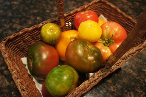 At Home: Heirloom Tomatoes