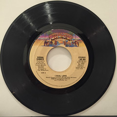DONNA SUMMER:I FEEL LOVE(RECORD SIDE-A)