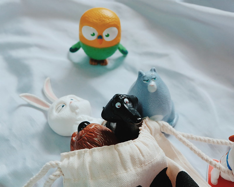 The Secret Life of Pets McDonald's Toys
