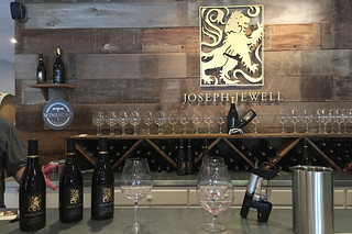 Joseph Jewell Winery - Wine tasting bottles