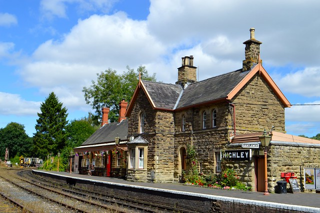 This is a picture of highly train station on the Severn Valley Railway