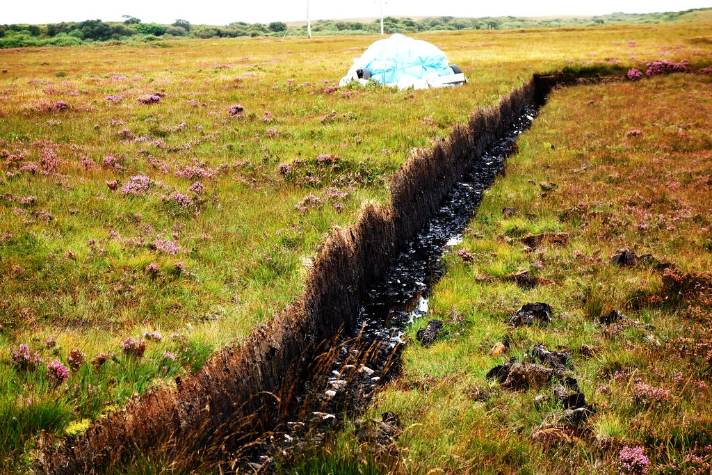 Peat Cuttings, Islay, Scotland