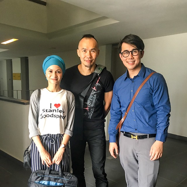 Sharifah Amani, James Lee and Me