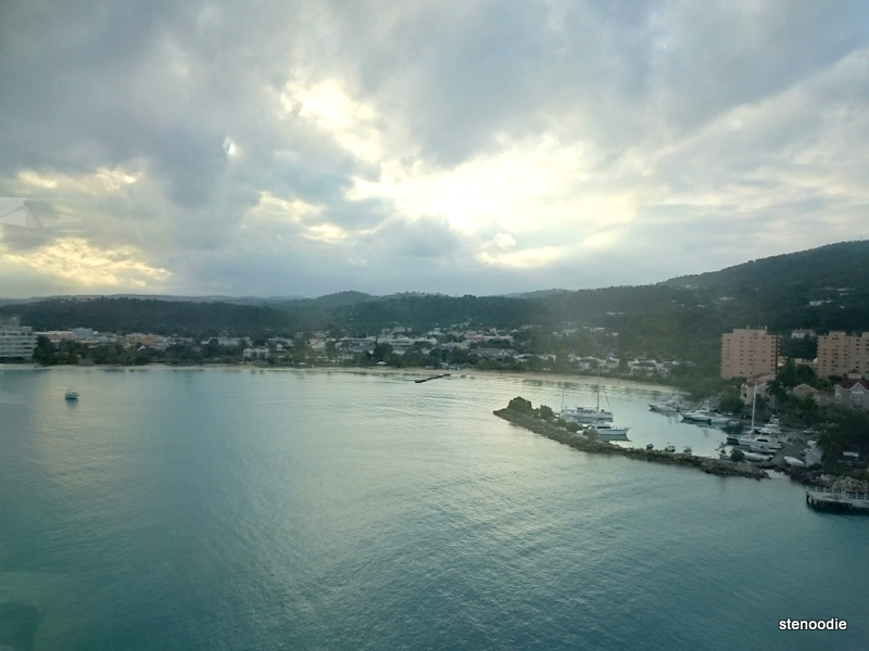 Ocho Rios, Jamaica from the cruise