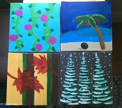 Family Season Paintings