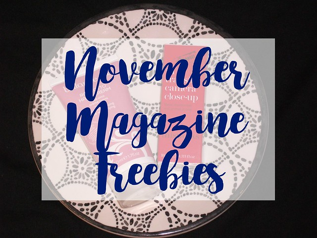 October 2016 Magazine Freebies