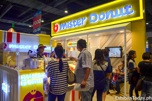 Mister Donut Exhibit Booth
