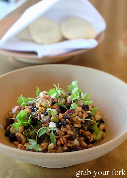 Salad of smoked eggplant at Bennelong Restaurant Sydney