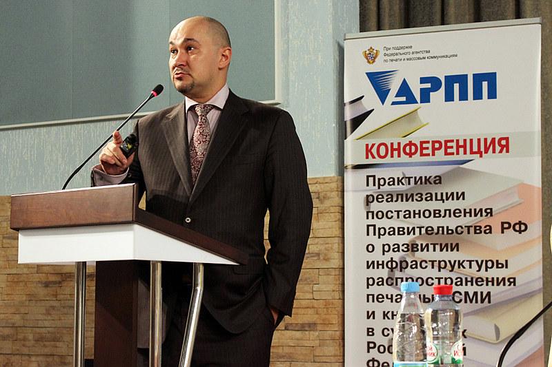 """Сергей Гаврилов, АРПИ """"Сибирь"""", НСРП """"Союзпечать"""""""