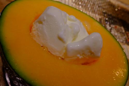 道産子ミルクメロンGelato on melon
