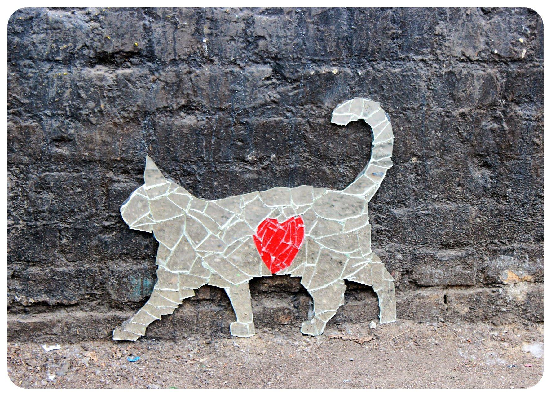 berlin cat street art