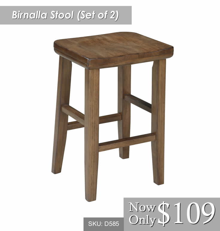 Birnalla Set of 2 Stools