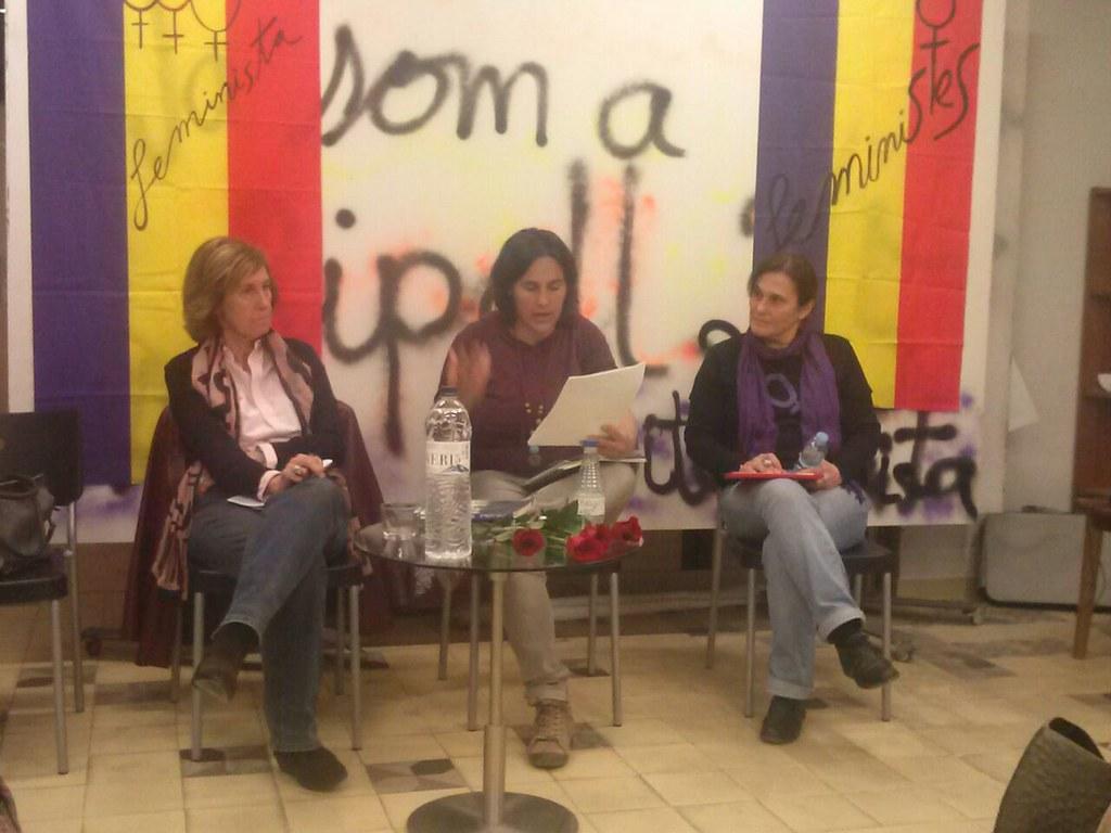 Elisenda Belenguer a l'Ca La Dona. Acte IV República Feminista