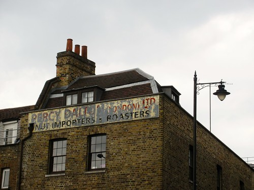Ghost Sign in Spitalfields