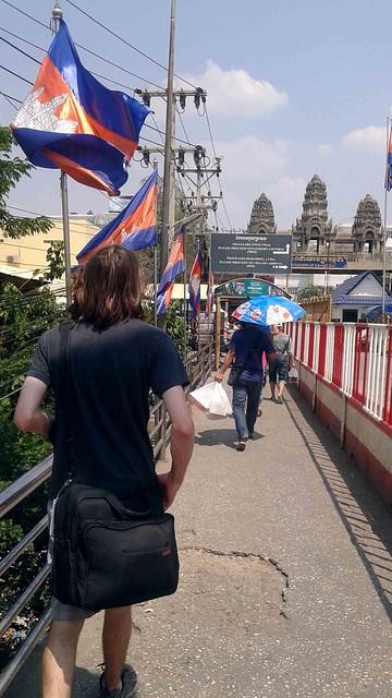 Walking Towards Cambodia