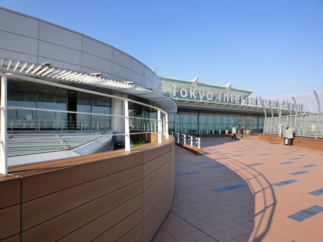 CASIO カシオ EXILIM エクシリム EX-TR100 TRYX 撮影サンプル 羽田空港ターミナル