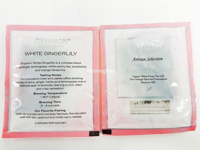Gryphon Tea White Gingerlily