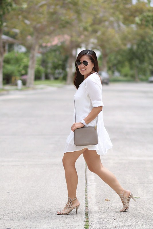 simplyxclassic, lwd, cage sandals, payless, budget friendly shoes, summer sandals