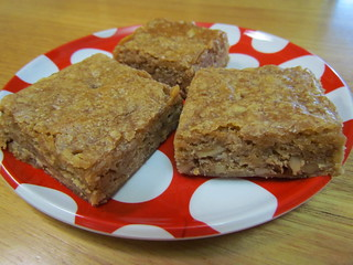 My Favourite Maple Walnut Blondies