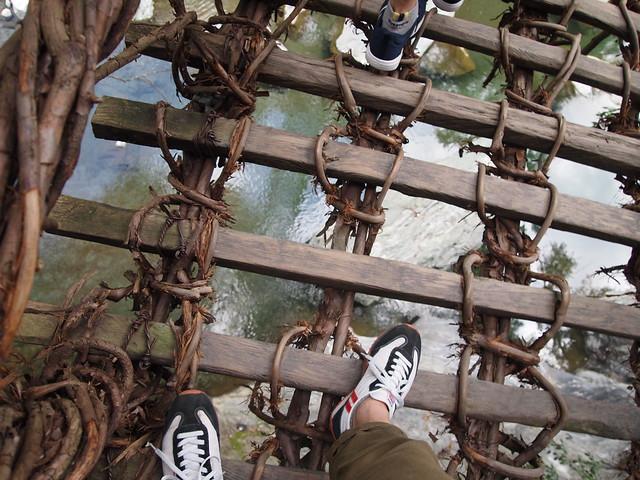 Iya Kazurabashi Bridge 祖谷の蔓橋