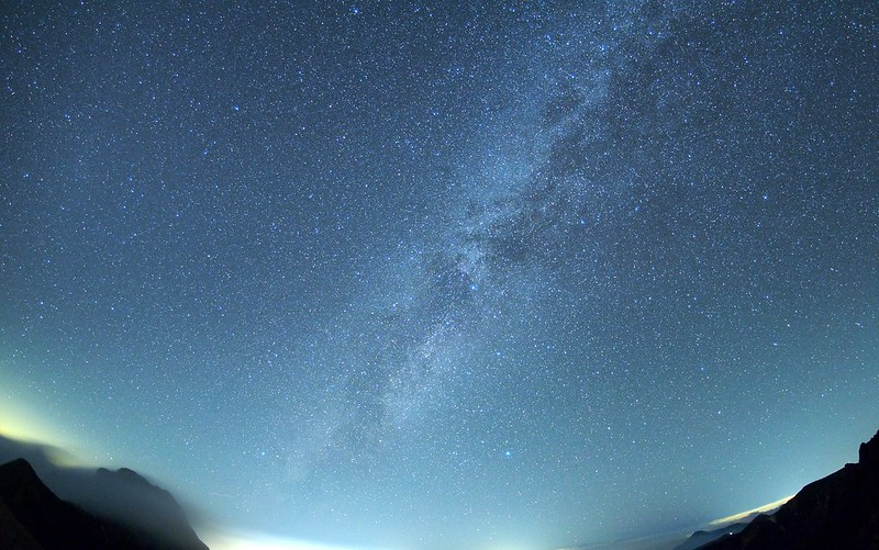 Milky Way from mountaintop!