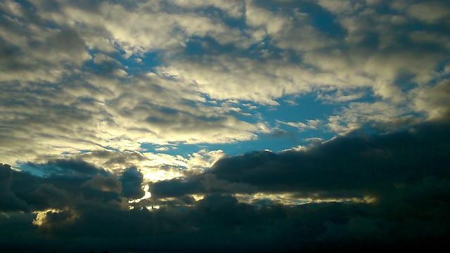 Вечернее небо // Evening sky