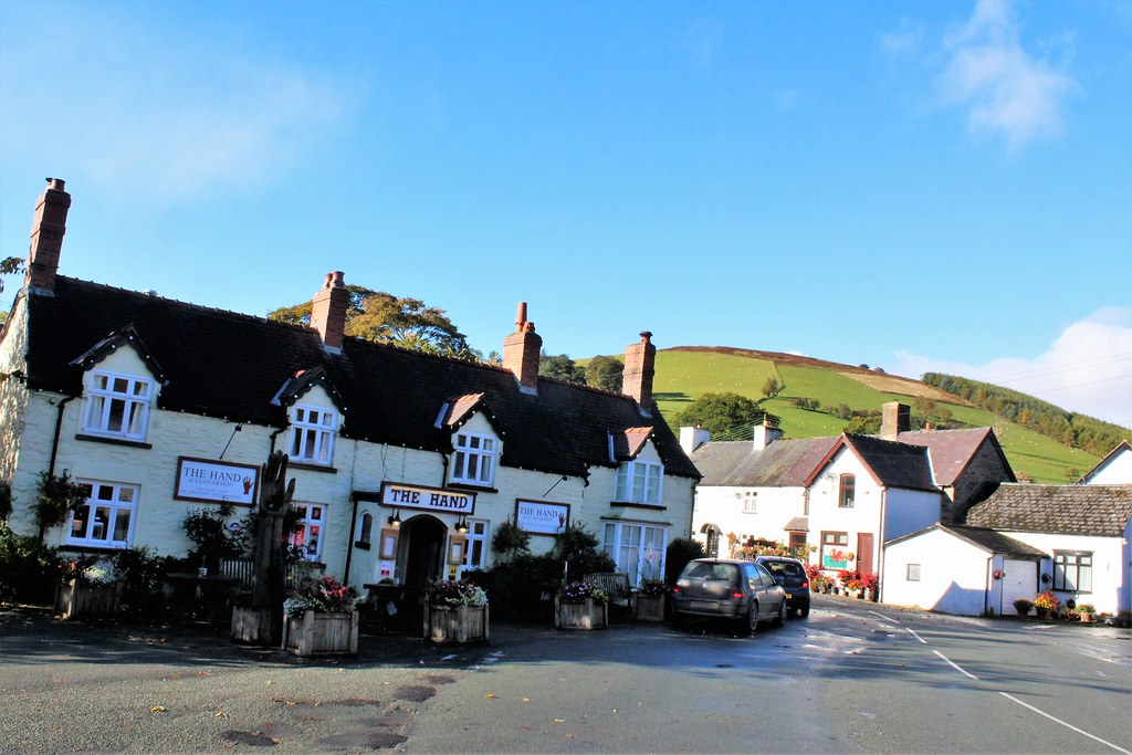 The Hand Inn at Llanarmon, Wales