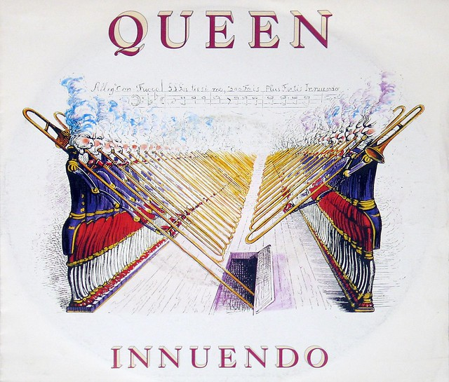 "Queen Innuendo 7"" Record PS Picture Sleeve"